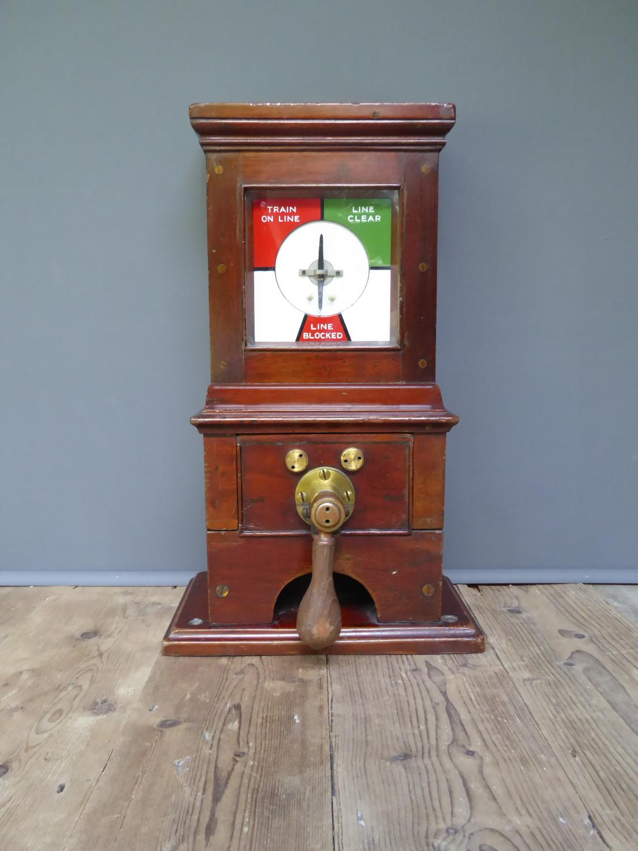 Midland Railway signal Box Instrument