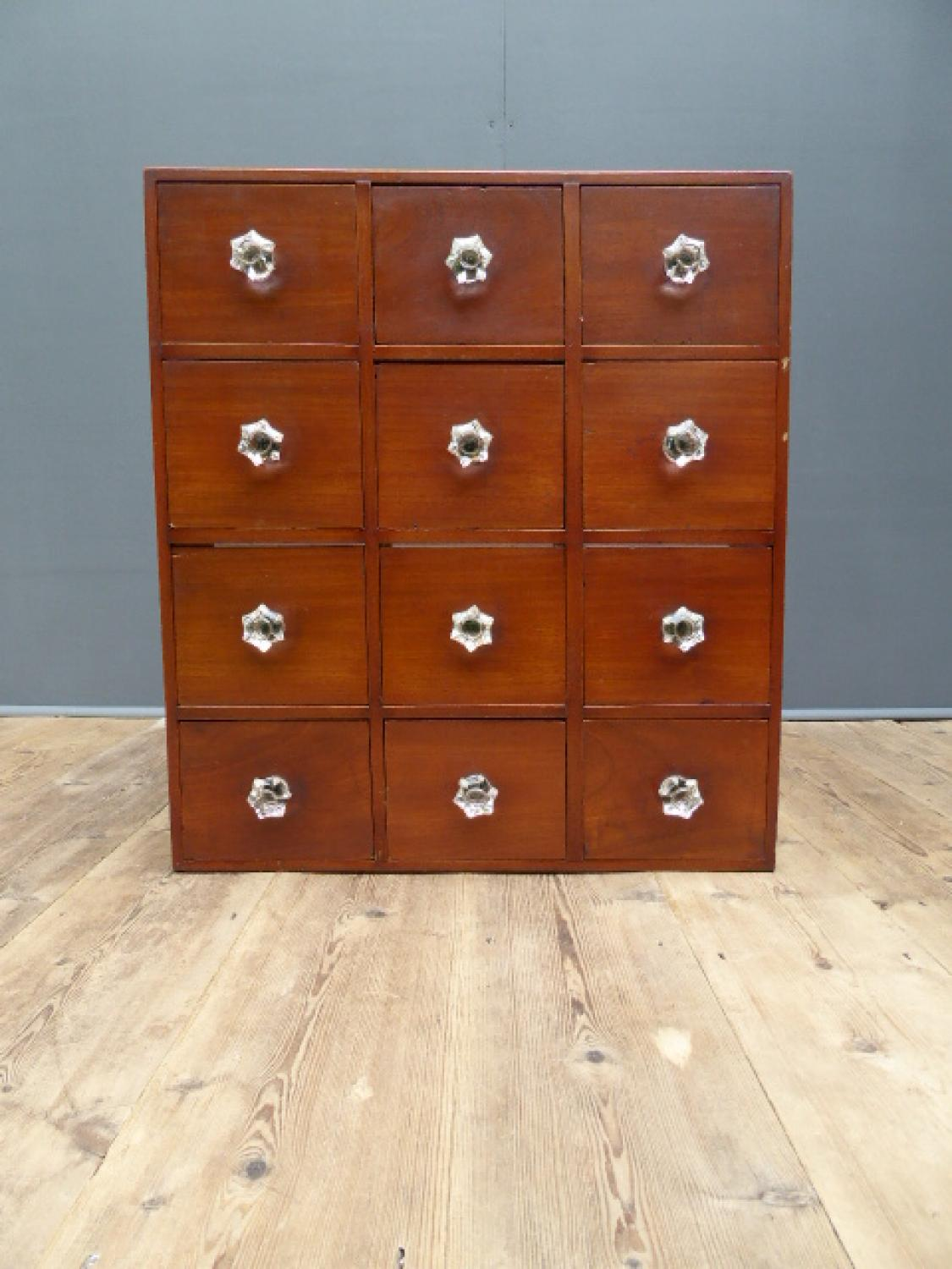 Small Victorian Apothecary Drawers