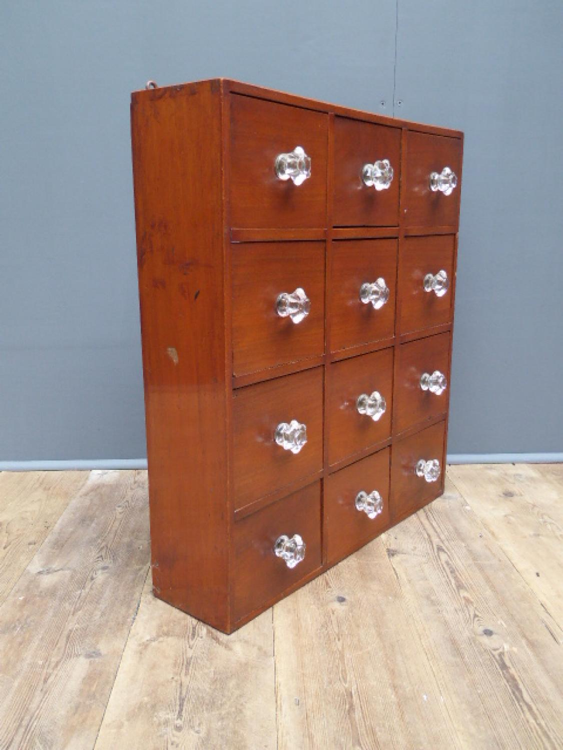 small victorian apothecary drawers in furniture