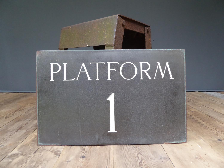 Platform One In Bronze & Enamel
