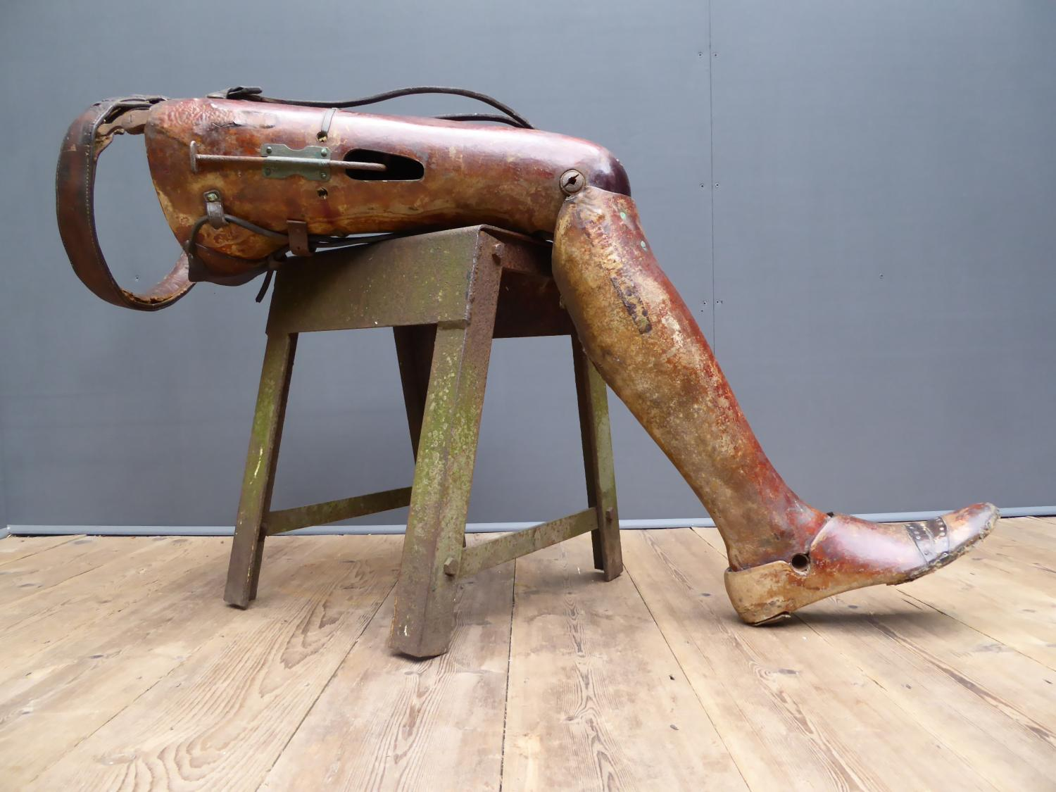 Early Prosthetic Leg