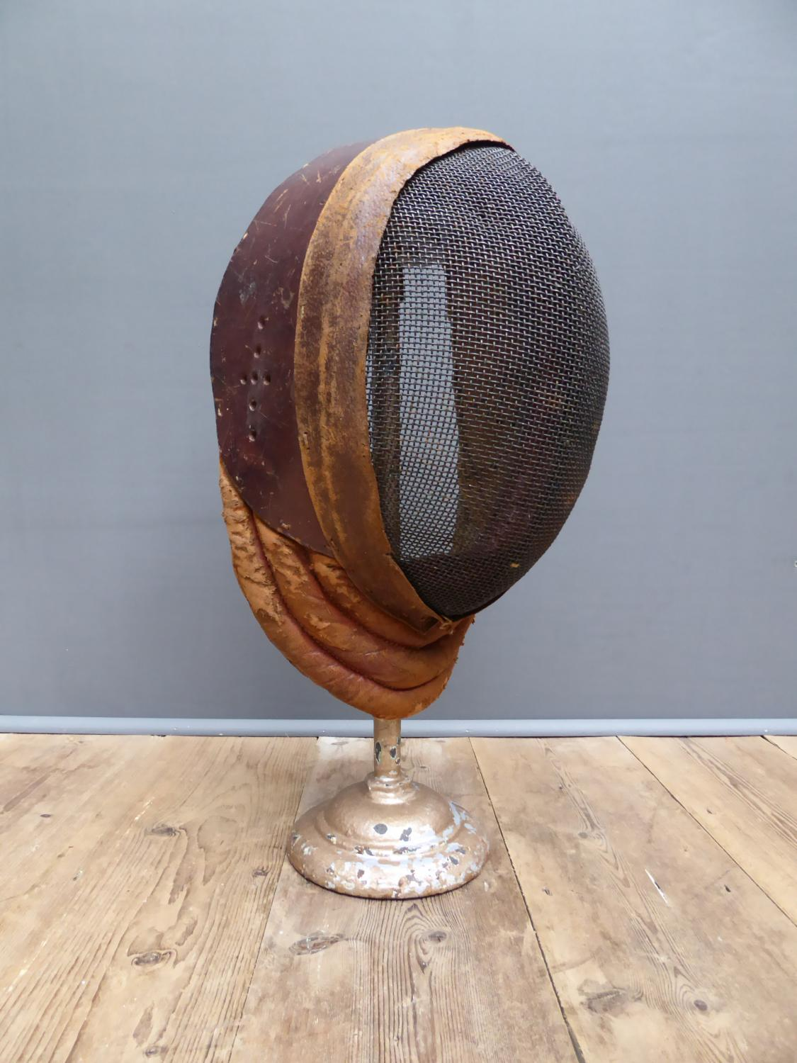 Leather Fencing Mask By Wilkinson Sword