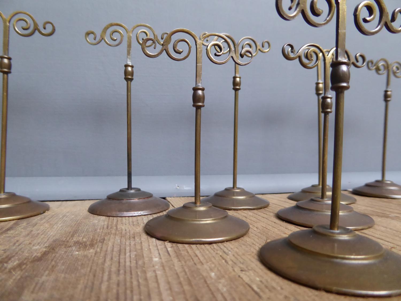 Brass Jewellers Display Stands