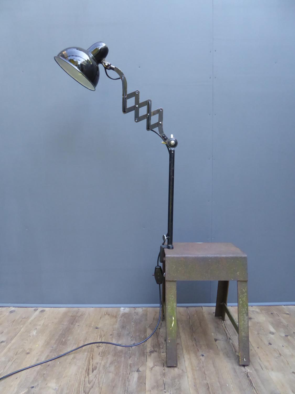 Bauhaus Era Scissor Lamp