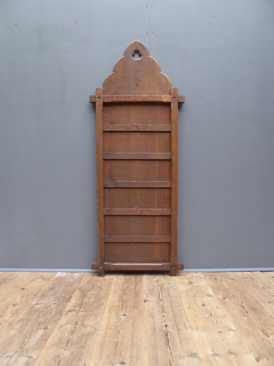 Large Ecclesiastical Oak Hymn Board