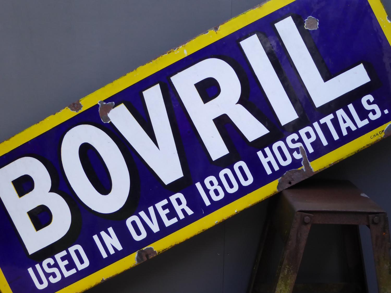 Bovril 'Hospitals' Enamel Sign