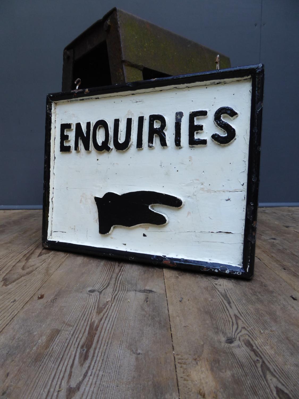'Enquiries'