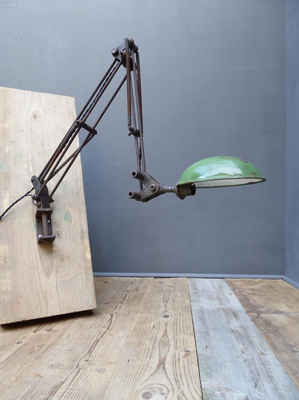 Articulated Machine Age Lamp