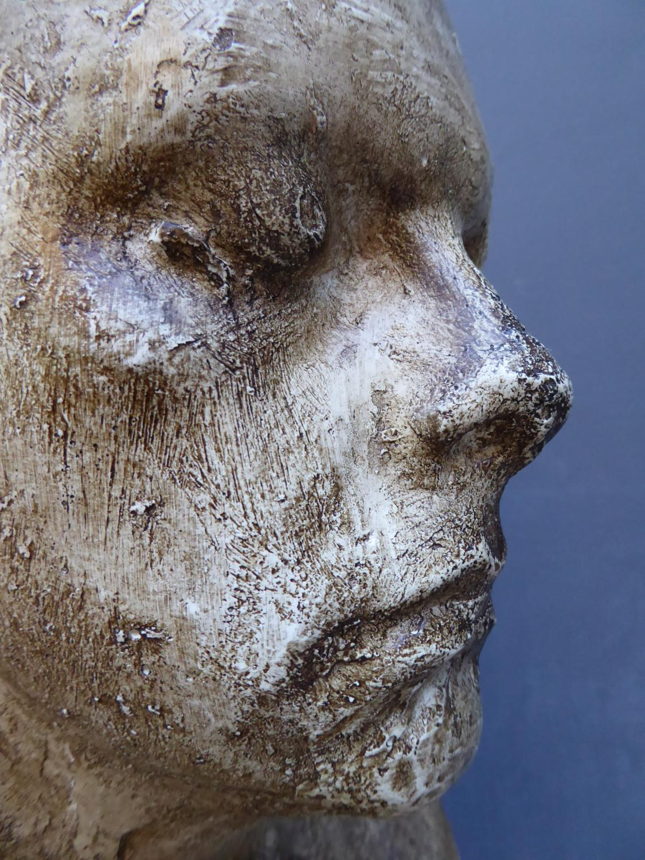 Male Plaster Bust