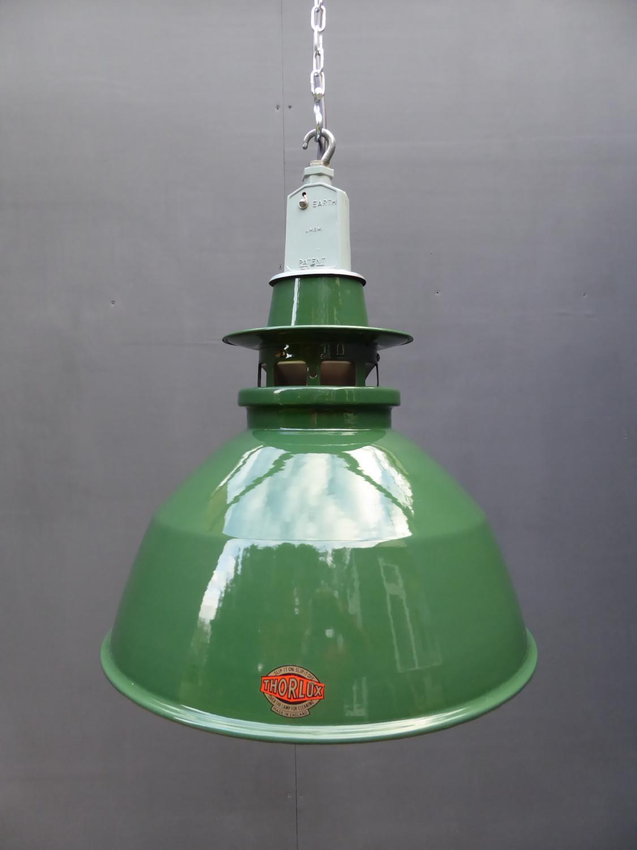 Run Of Thorlux Industrial Pendant Lights