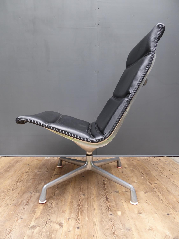 Herman Miller Leather Armchair