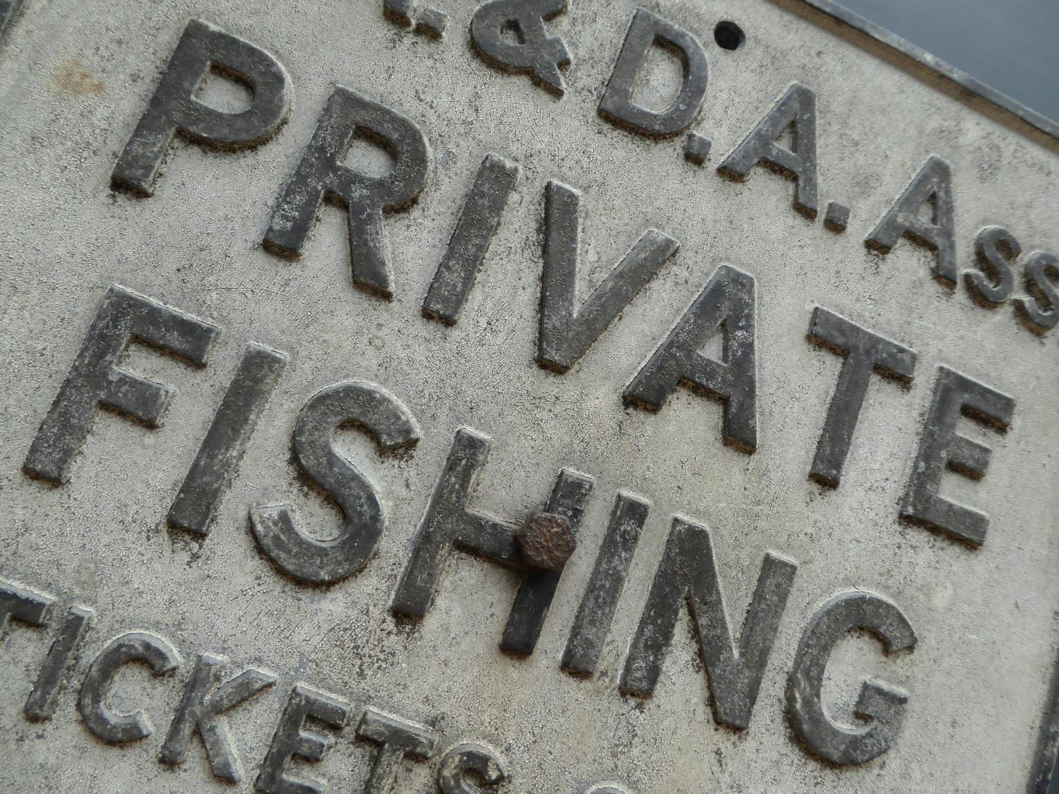 'Private Fishing'