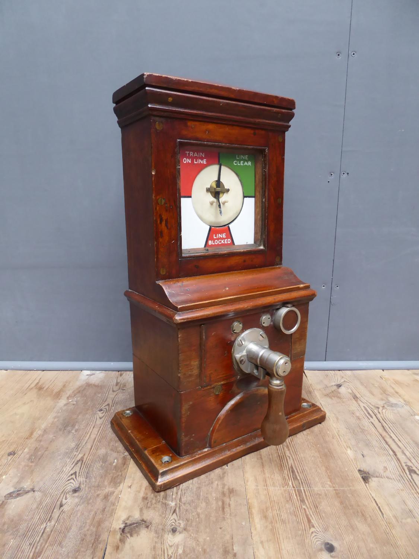 Bartholomew Railway Signal Box Instrument