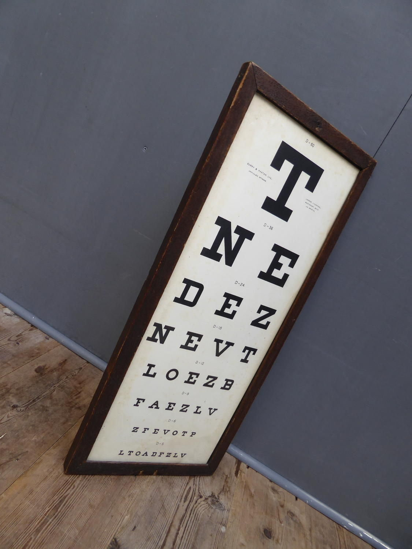 Framed & Glazed Opticians Sight Test