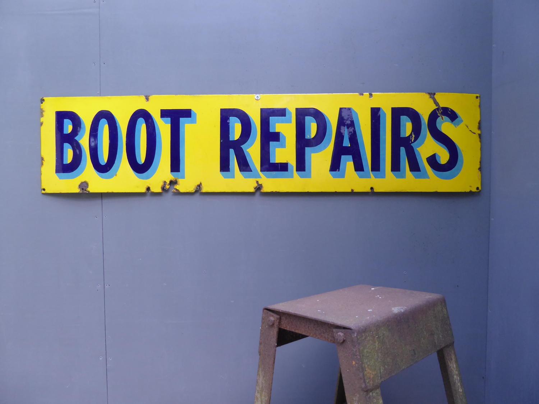 'Boot Repairs'