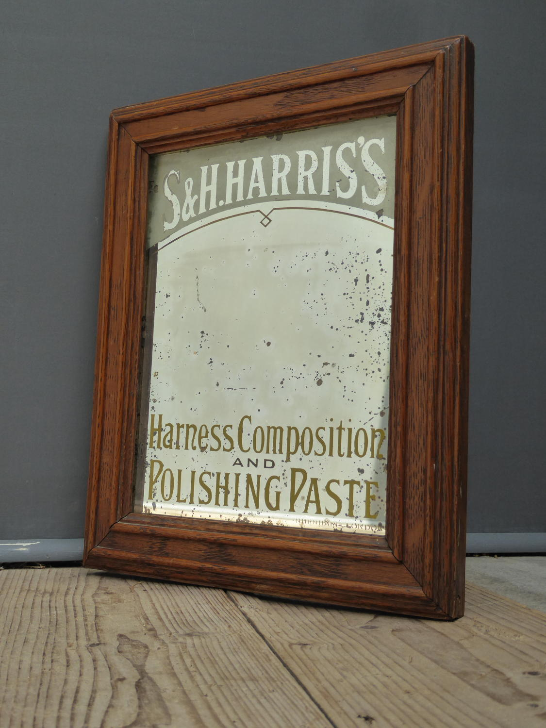 Harris's Advertising Mirror