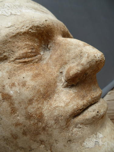 Early Plaster Death Mask