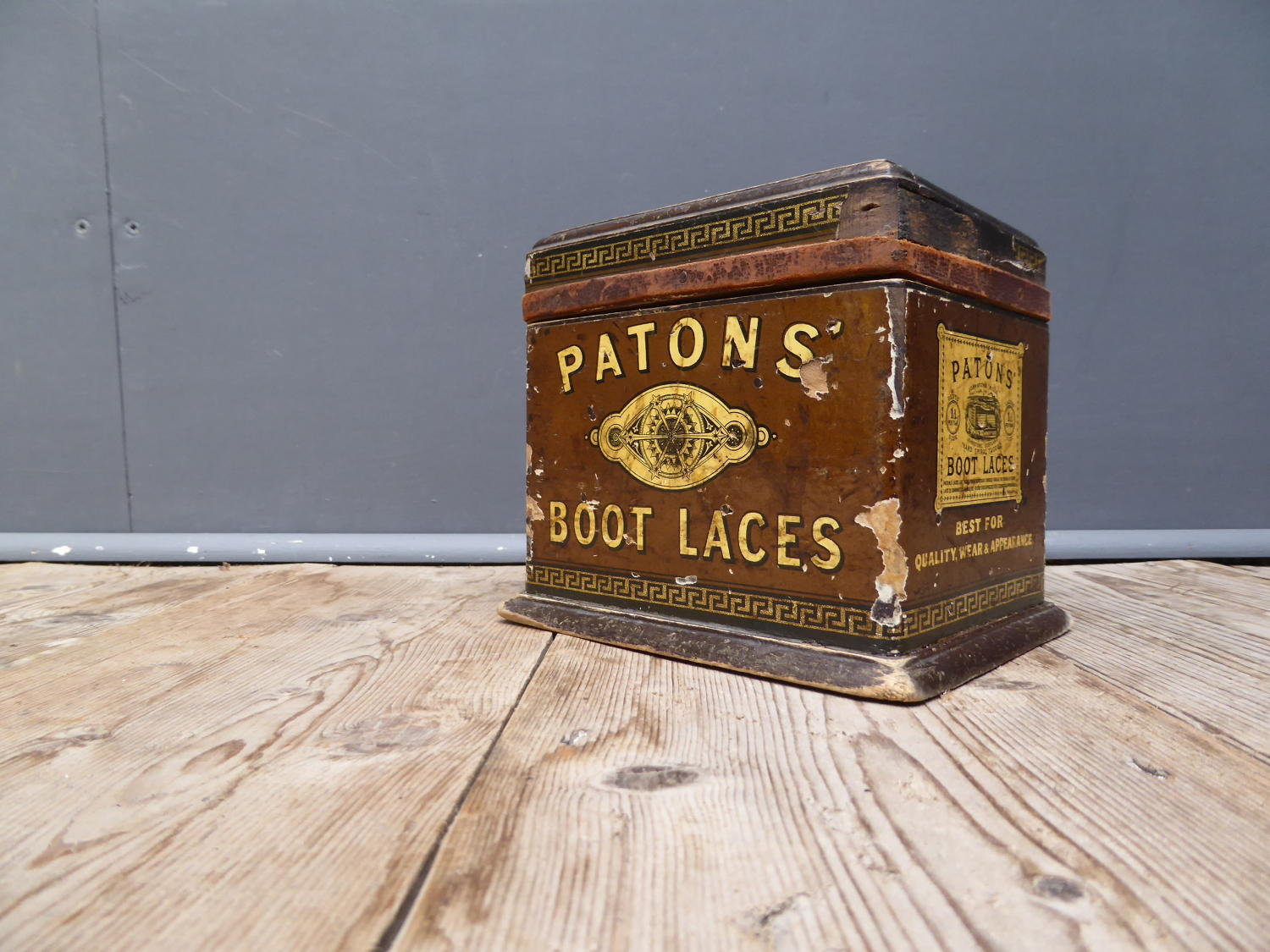 Patons Boot Laces & Twine Dispenser
