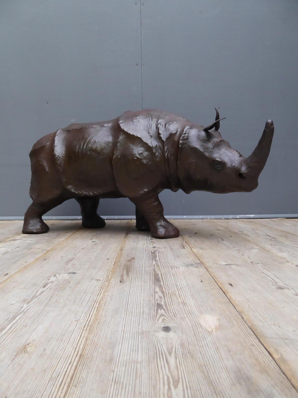 Large Leather Rhinoceros