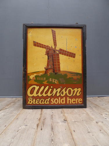 'Alinson Bread Sold Here'
