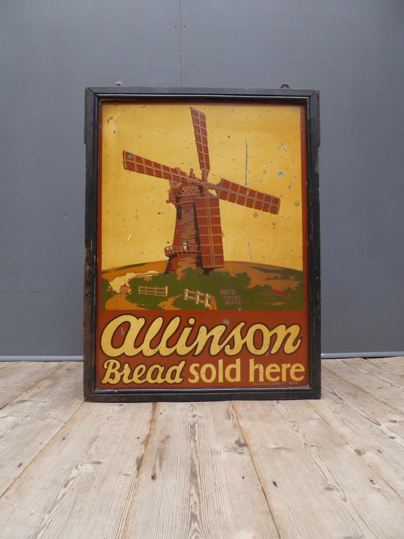 'Alinson Bread Sold Here'