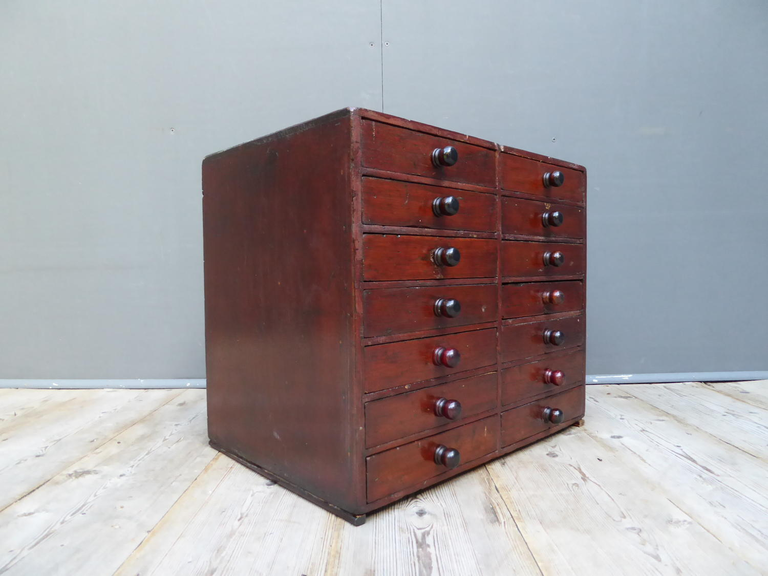 Victorian Pine Jewellers Drawers