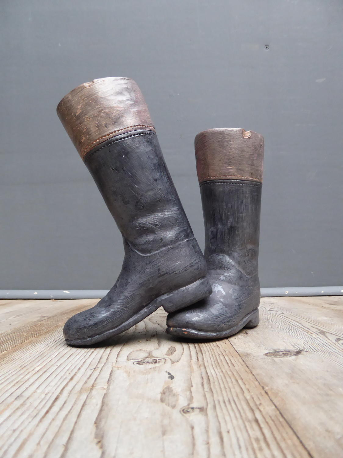 Terracotta Hunting Boots
