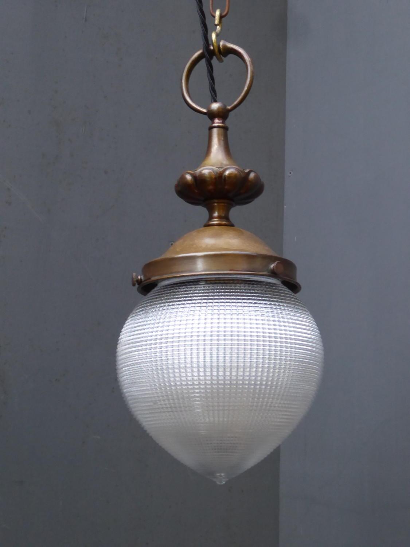 Holophane 'Acorn' Pendant Light