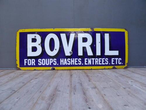 Bovril Enamel Sign