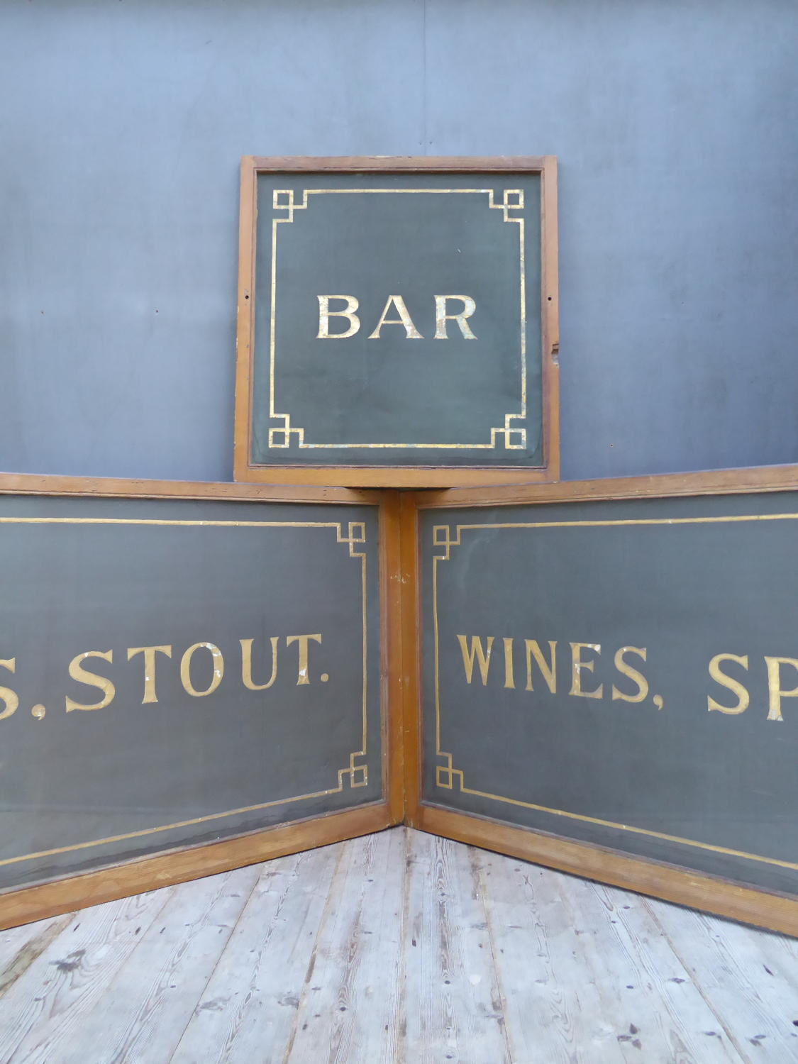Wire Mesh Pub Signs