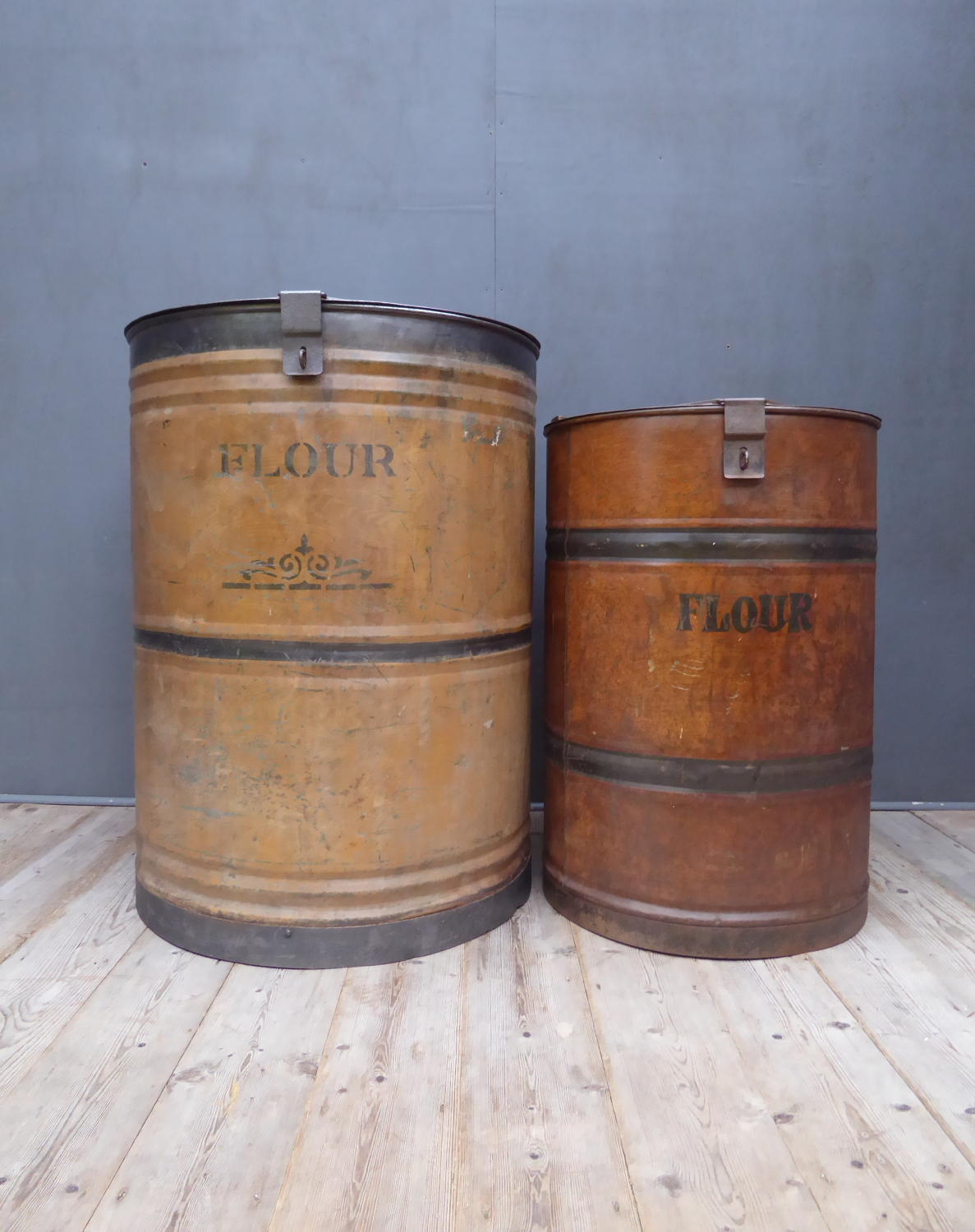 Vast Country House Flour Bins