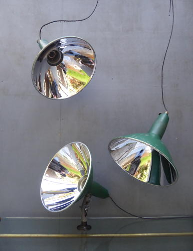 Mirrored Benjamin Wall Lights