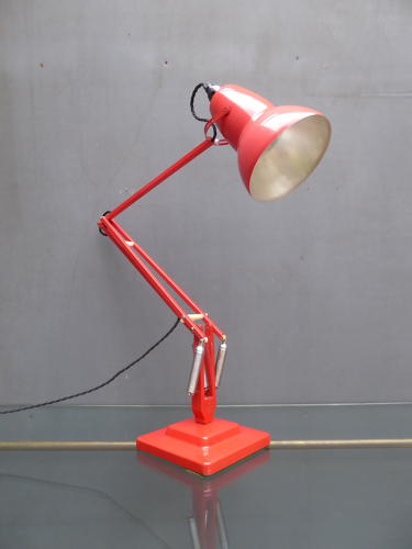 Red Herbert Terry Anglepoise 1227 Lamp