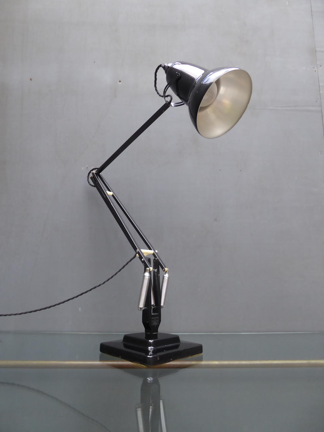 Black Herbert Terry Anglepoise 1227 Lamp