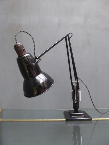 Black Herbert Terry Anglepoise 1227 Lamp