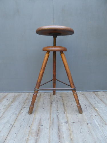 Large Factory Work Stool