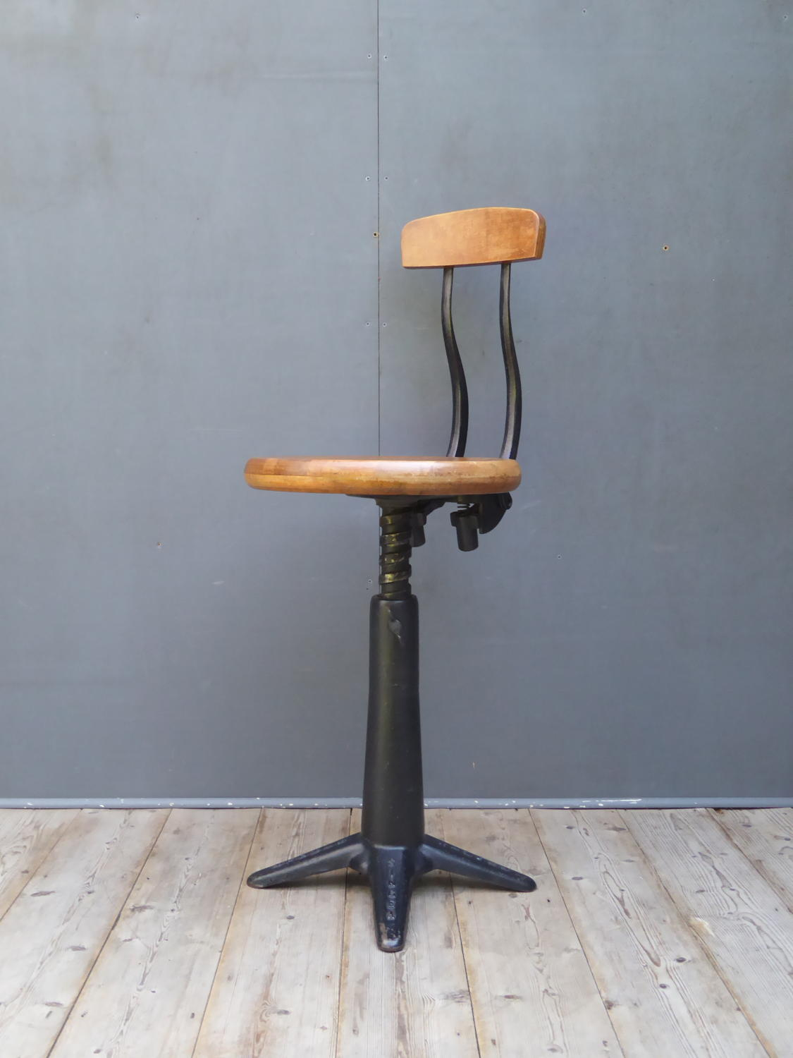 Singer Machinist Chair