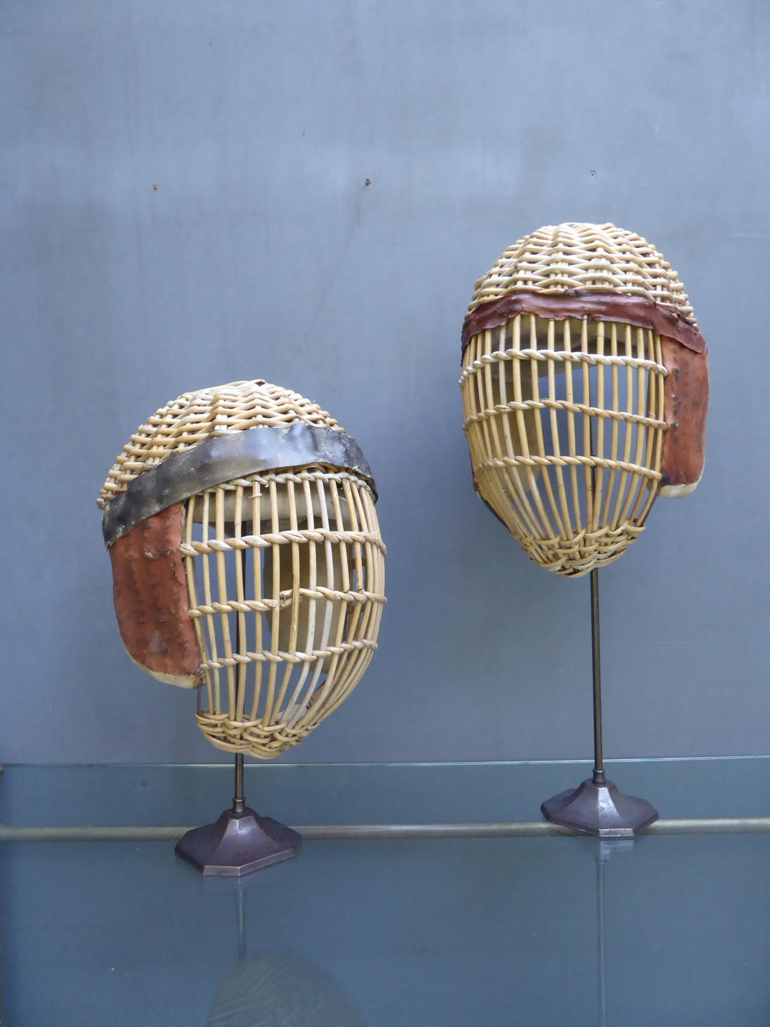 Pair Of Kendo Masks