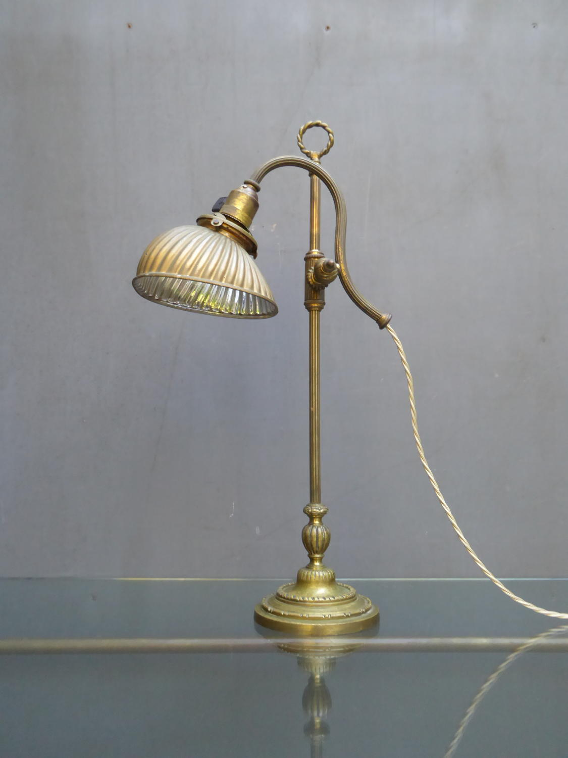 Mercury Glass Desk Lamp