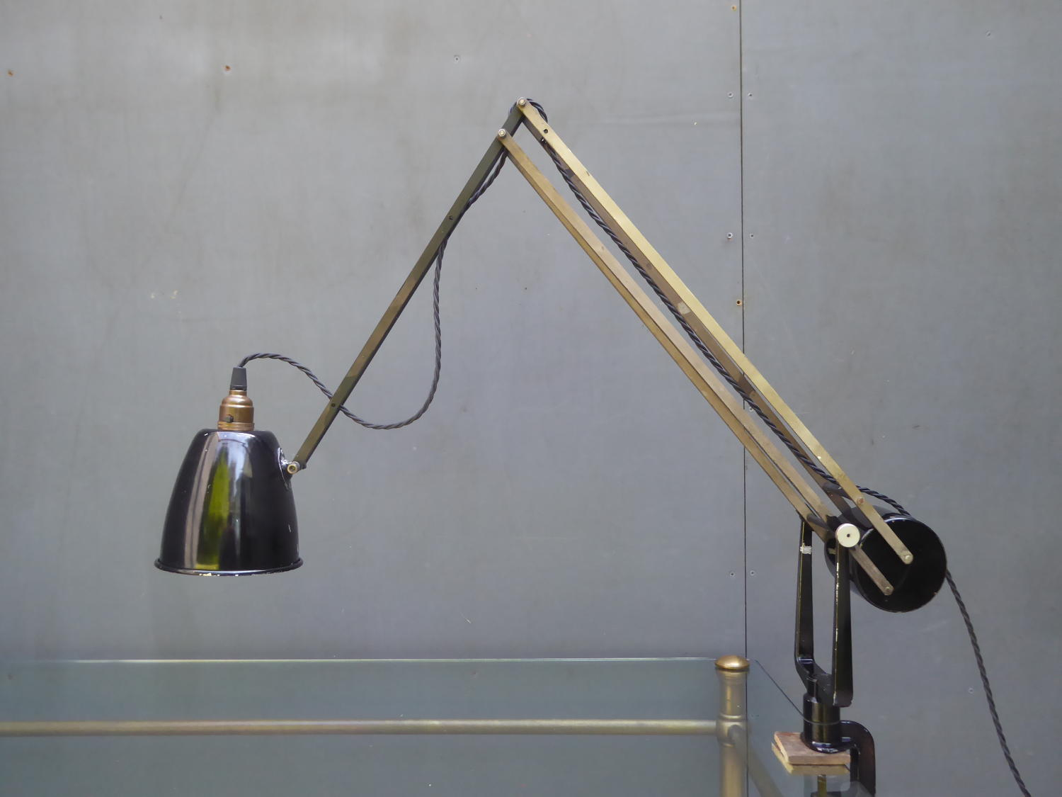 Hadrill Horstman Clamp Lamp