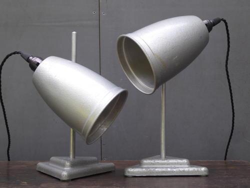 Pair Of Laboratory Lamps