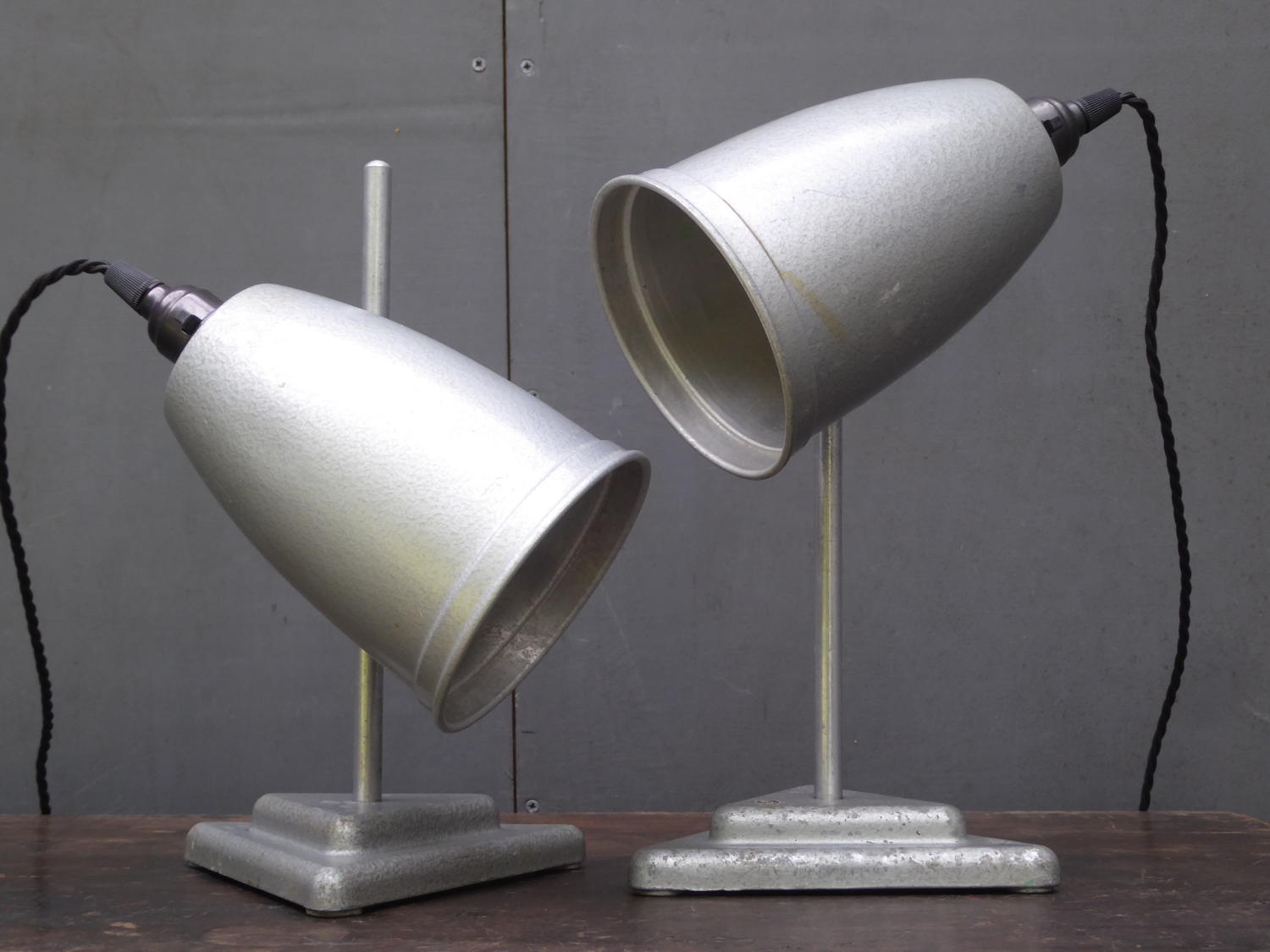 Pair Of Laboratory Lamps
