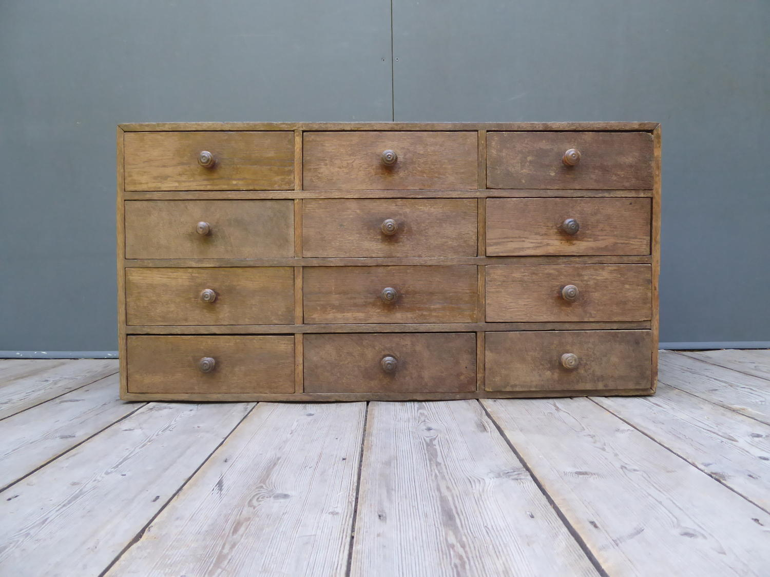Bank Of Oak Apothecary Drawers