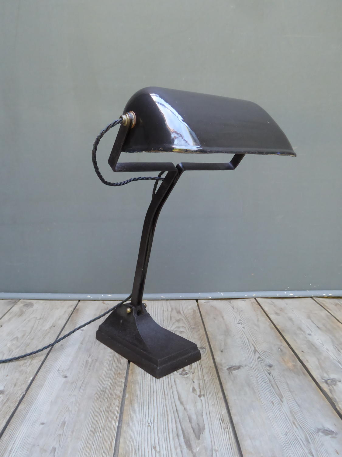 Industrial Bankers Lamp