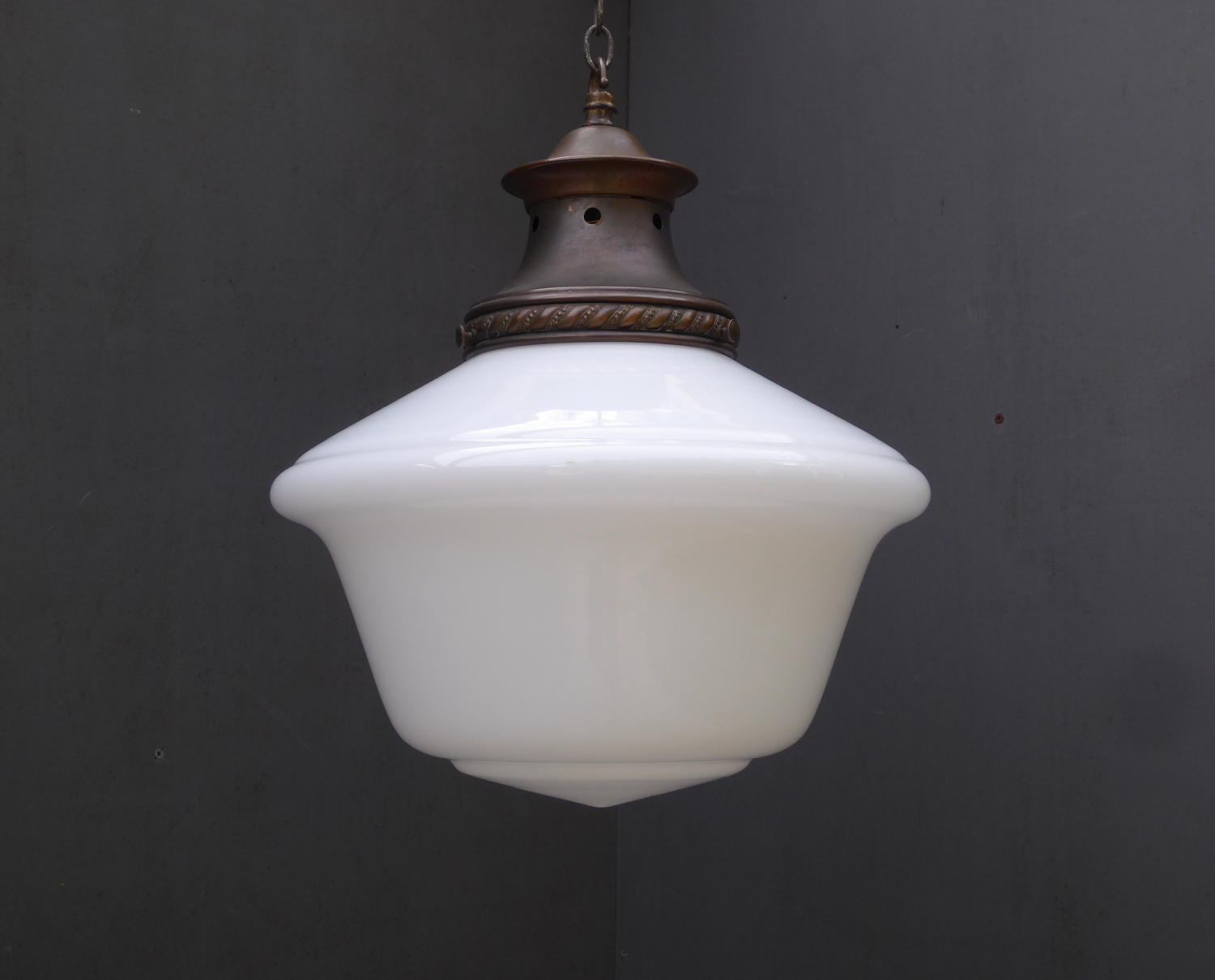 Opaline Chapel Pendant Light