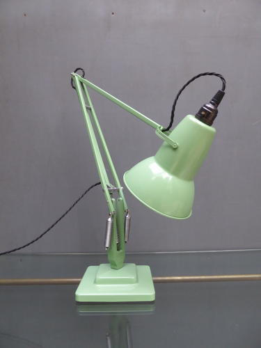 Pastel Green Anglepoise 1227 Lamp