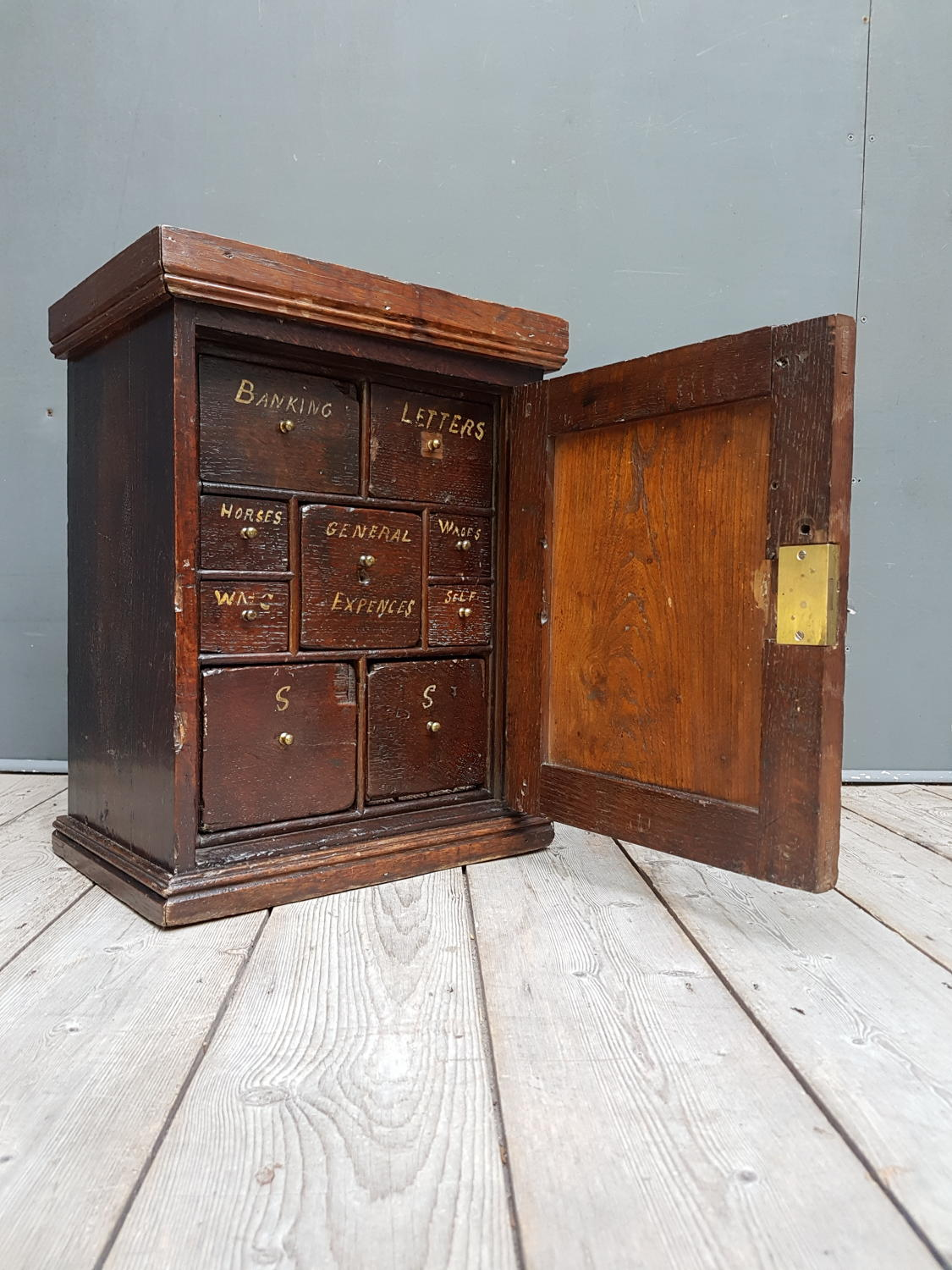 18th Century Spice Cabinet