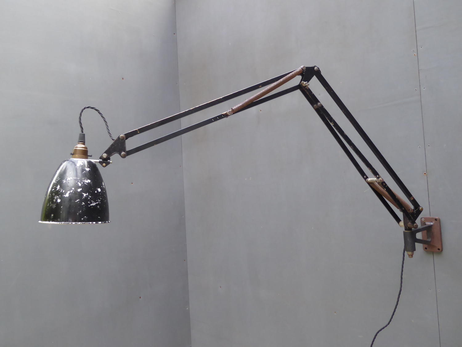 H.T Anglepoise Wall Lamp