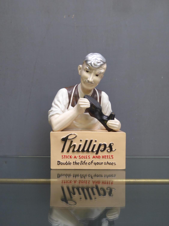 Phillips Cobblers Advertising Figure