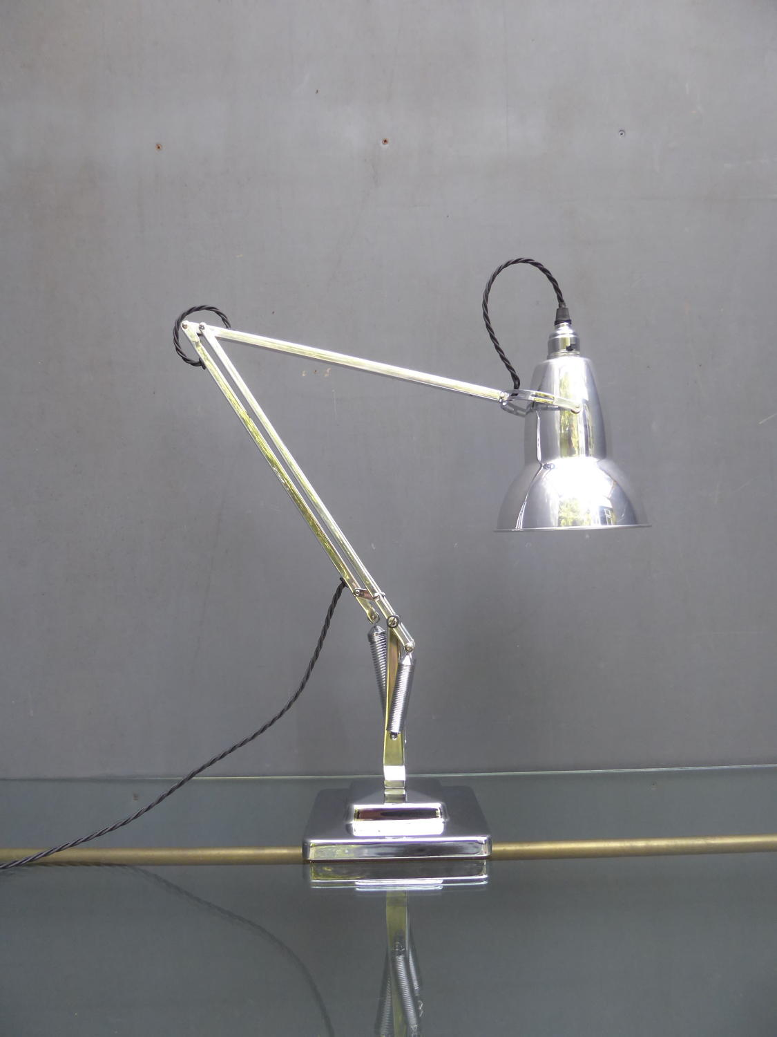 Polished Herbert Terry Anglepoise 1227